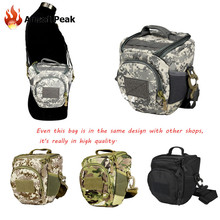 Camouflage 600D Nylon Camera Photo Bag Case Pouch Shoulder Bag Army Tactical Assault Military Travel Storage Collection Backpack(China (Mainland))