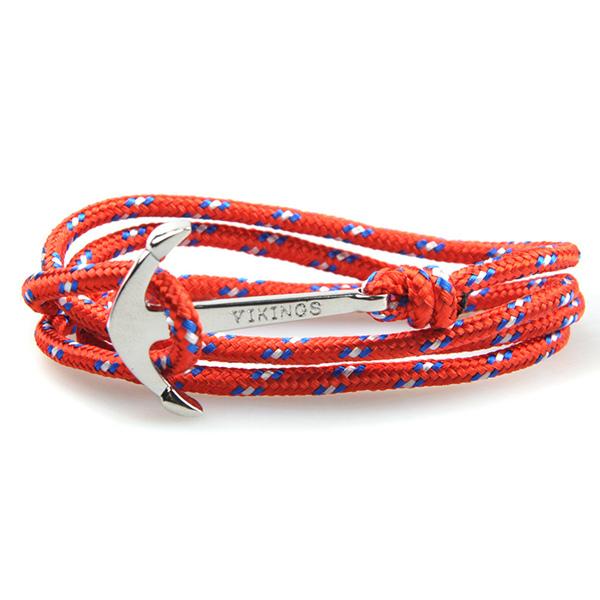 2015 Fashion Jewelry White Alloy Anchor Bracelet Men Leather Risers Bracelet for Women Men friendship bracelets