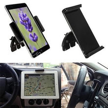"""Brand New 10"""" Adjustable Universal Car CD Slot Phone Mount Holder Stand For Ipad For Samsung Tablets & GPS Stander(China (Mainland))"""