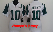 A+++ Women ladies all stitched New York Jets , #87 Eric Decker all player(China (Mainland))