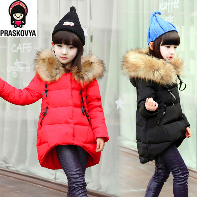 Girls Hooded Winter Coats - Coat Nj
