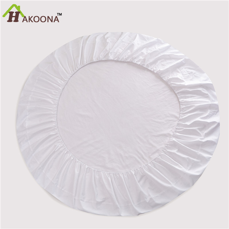 Как сшить простынь на резинке на круглую кроватку