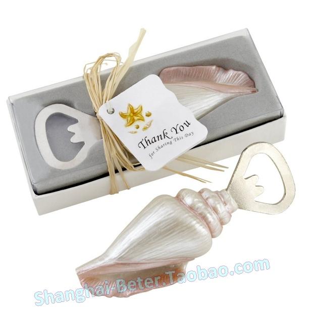 36box sea shell bottle opener favor sz013 wedding gift wedding souvenir wedding decoration on. Black Bedroom Furniture Sets. Home Design Ideas