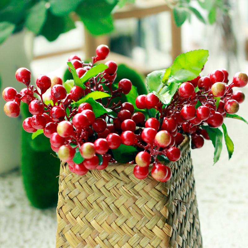 Berry xiangsi fruit artificial flower artificial flower silk flower dried flowers artificial plants home(China (Mainland))