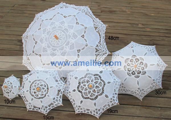 Amelie lace parasol set (3)