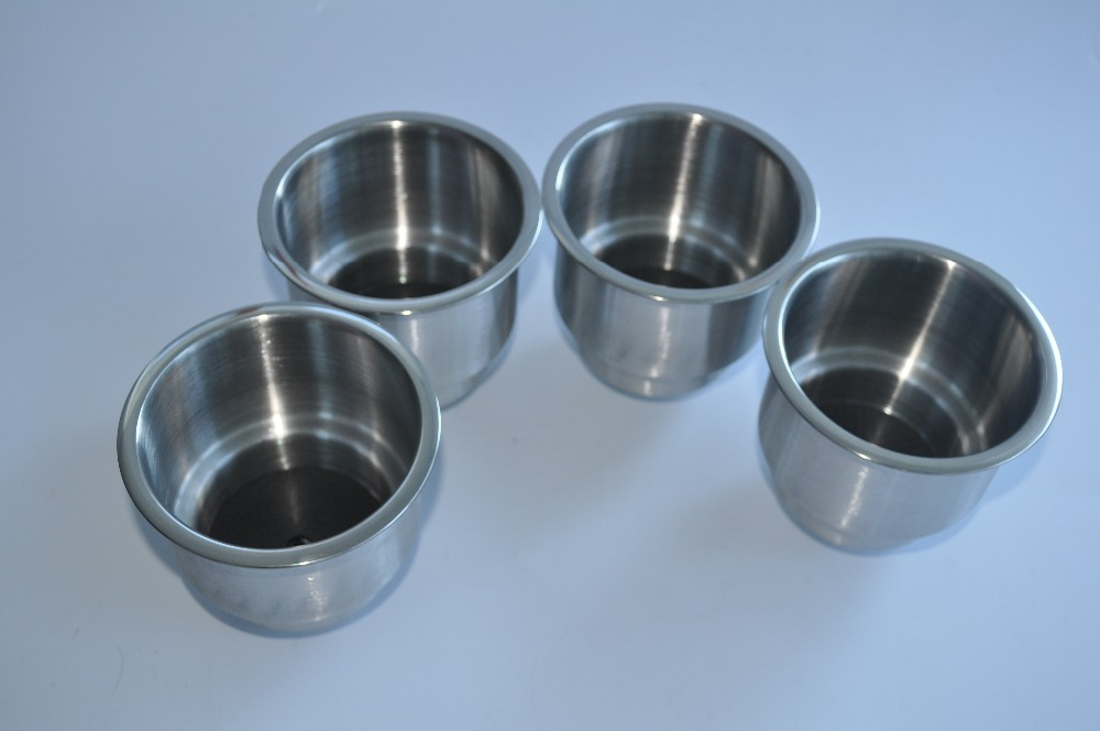 (8pcs) Stainless Steel Cup Drink Holder Marine Boat RV Camper(China (Mainland))