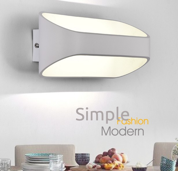 Simple Modern Wall Sconces Creative Iron LED Wall Light For Home Lighting Bedside Wall Lamp Integrated Lampe Murale Lampara<br><br>Aliexpress