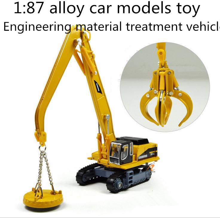 [해외] 2014 고급형 1 : 87 합금 슬라이드 장난감 모델 엔지니어링 소..