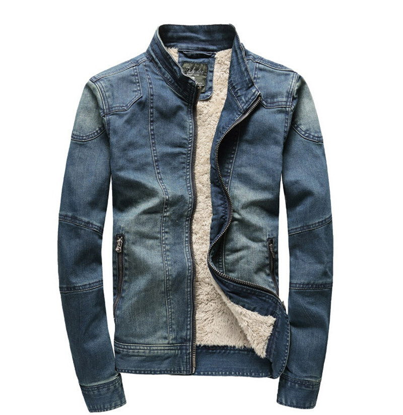 Popular Men Denim Fur Jacket-Buy Cheap Men Denim Fur Jacket lots ...