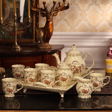 High Quality ceramic coffee sets fashion tea sets afternoon tea sets ceramic coffee cup and coffee tray suits