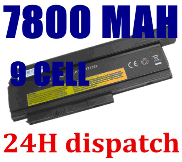 7800MAH battery for Lenovo ThinkPad X230 X220 X220i X220s 42T4901 42T4902 42Y4940 42Y4868 42T4873 42Y4874 42T4863 42Y4864