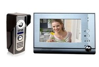 7 «lcd видео домофон телефон дверь Белл домофон touch ключевые системы видео камеры с кода блокировки клавиатуры удаленного