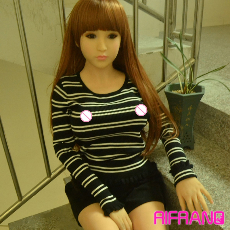 Rifrano Lifelike male 148cm full silicone sex love doll ,Japanese anime solid silicone sex doll for men vagina/ anus sex toy(China (Mainland))