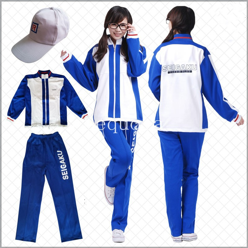 New Arrive Anime Prince of Tennis Cosplay Costume Autumn ...