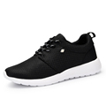 Breathable Lover Sport Shoes 2016 Black Women Men Mesh Shoes Thin sole Light Casual Shoes Trainers