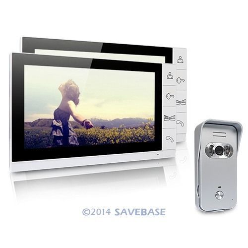 "Video Door Phone DoorBell Intercom System IR Camera Night Vision 9"" LCD Monitor(China (Mainland))"