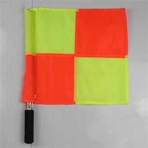 New Deluxe Hockey Soccer Football Sports training referee flags Signal flags referee equipment(China (Mainland))