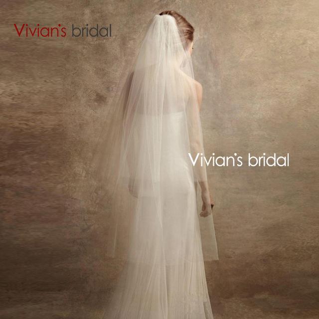 Вивиан свадебные бесплатная доставка 2015 горячая распродажа мода романтический длинный ...