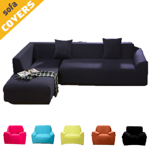 Spandex Stretch Sofa cover Big Elasticity Couch cover Loveseat SOFA Furniture Cover 1pc pure color 14 Colors - Machine Washable(China (Mainland))