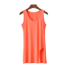 2015 Summer Style New Model T Shirt Women Long Ladies Vest Fashion Slim Hip Package Sexy Tank Tops Plus Size Tshirt Femme(China (Mainland))