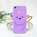 1pcs lot Adventure Time Lumpy Space Princess hard white Case for iphone 5 5s 4 4g