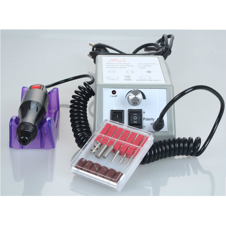 Nail art equipment beauty machine nails drill electric drilling kit nails polishing tool 220V(China (Mainland))