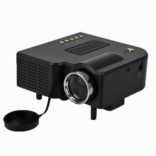 New UC28 Portable LED home Projector Cinema Theater PC&Laptop VGA/USB/SD/AV/HDMI projektor ,Up to 20K Hours Life Mini Projector