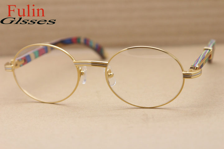 2015 NEW Ladies Fashion Sunglasses 7550178 with Colorful Peacock Wood Legs Size:55-22-135 mmОдежда и ак�е��уары<br><br><br>Aliexpress