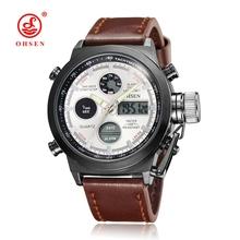 Buy Hot Sale OHSEN Brand Casual Quartz Man Male Female Waterproof Wrist Watch Alarm Sport Multifunctional Watch Relojes Hombre for $15.08 in AliExpress store