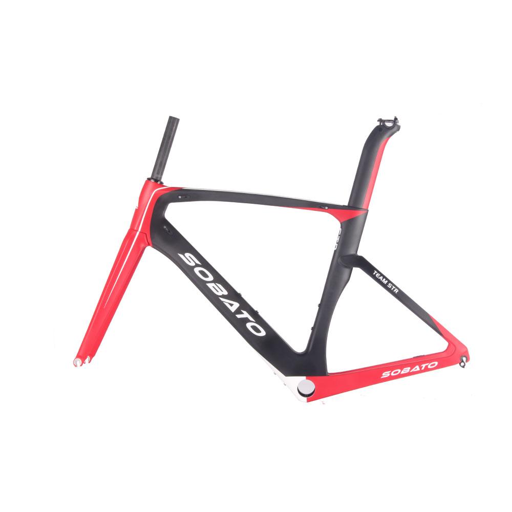 Cheap Road Bike Frames Full Carbon Road Bike Frames UD Matt Aero Frame Road Bike BB386(China (Mainland))