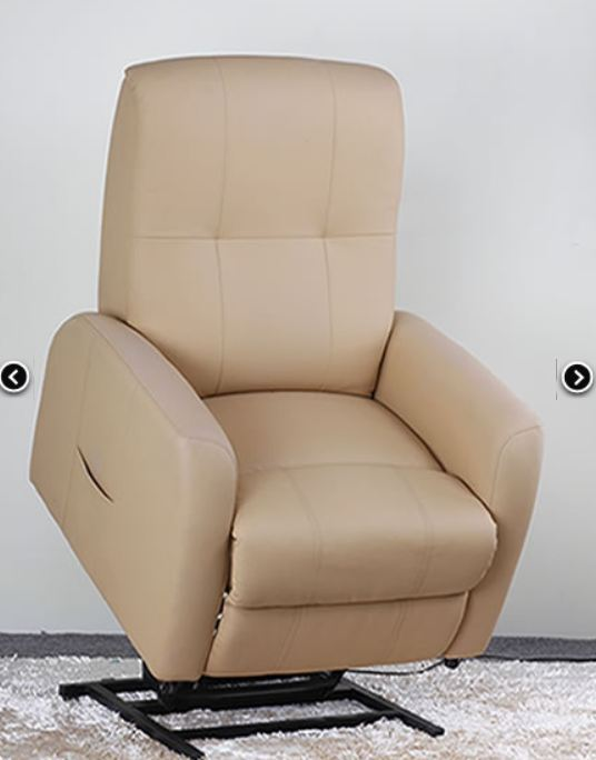 one motor Leather Electric Rise Recliner sofa Chair lifter(China (Mainland))