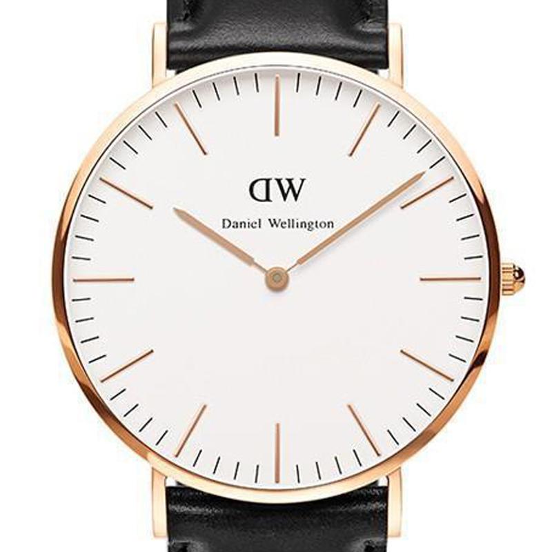 Hot Sell Top Brands Men Women Daniel Wellington Watch Luxury brands DW Wristwatches Leather Nylon strap