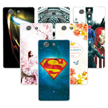Buy Fashion Attractive Case SONY Xperia Z3 mini / Z3 Compact Super Iron Man Painted Back Protector Sony Z3 Compact Case for $1.39 in AliExpress store