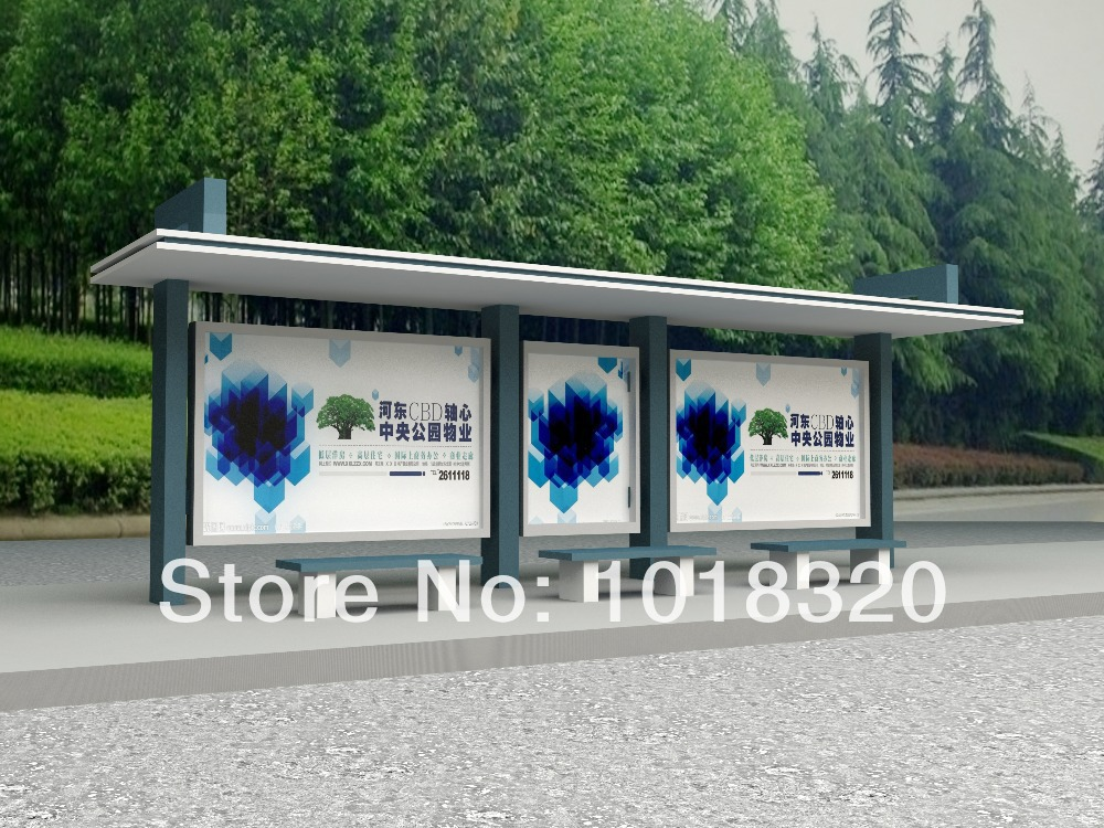 Bus stop shelter advertising(China (Mainland))