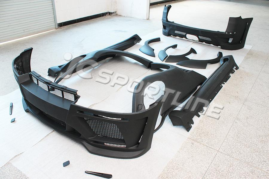 FRP E70 X5 upgrade HM styling car body kits for BMW,auto bumper body kit fit E70 X5(2008-2013)(China (Mainland))