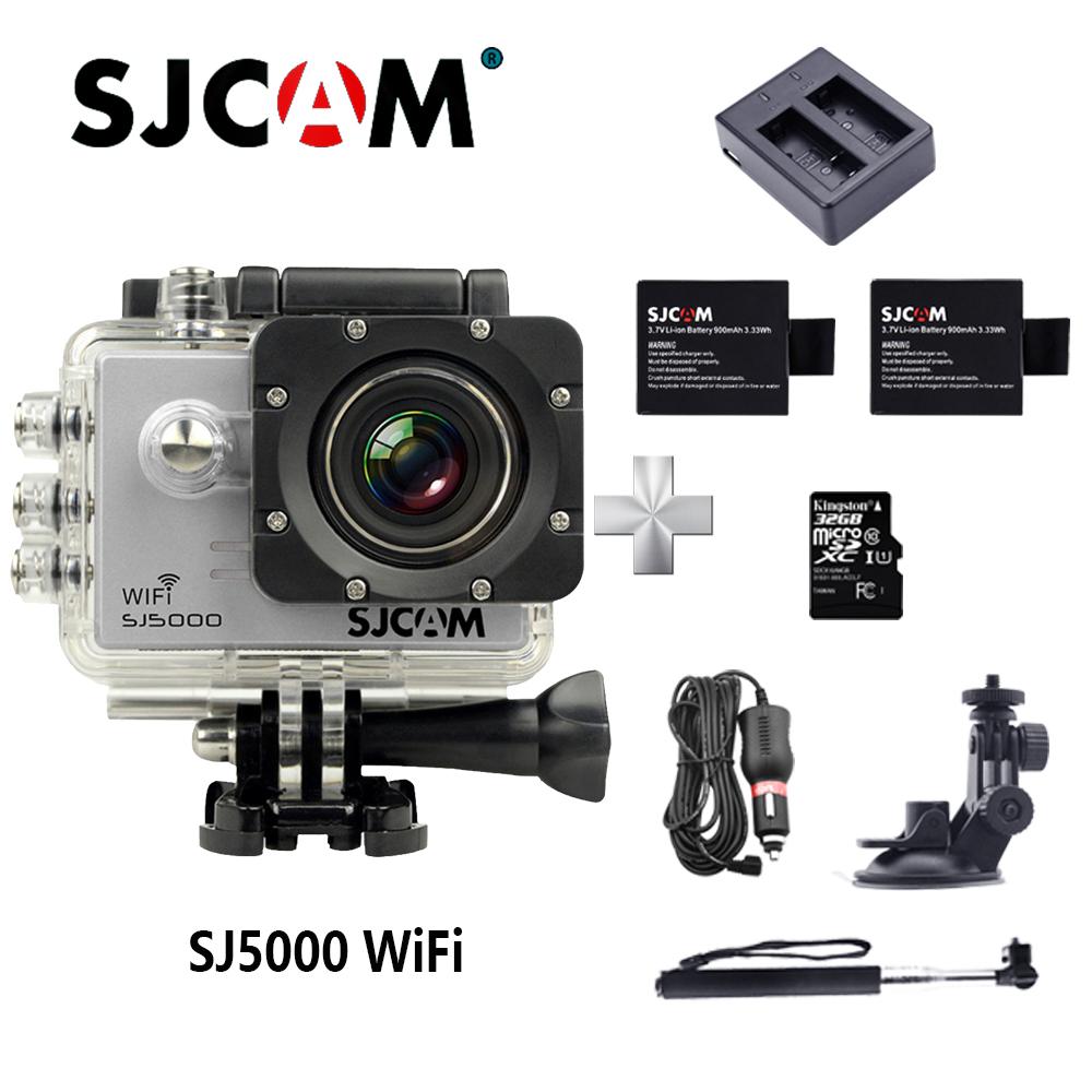 Original SJCAM SJ5000 WIFI Action Camera 2.0 LCD 170D lens go waterproof pro camera 1080P Full HD gopro style Sport Camera DV(China (Mainland))