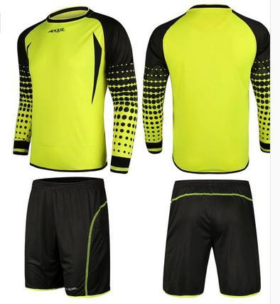 free shiping AOQUE China famous brand football goalkeeper clothing goalkeeper jersey 4 color Size M,L,XL,XXL(China (Mainland))