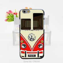 1pcs vw car logo hard black Case for iphone6(4.7inch) and iphone6 plus(5.5inch)