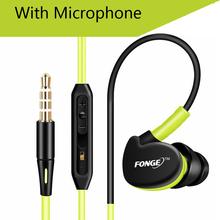 QKZ F1 100% Original Sport in Ear Earphone Microphone 3.5mm HIFI Metal Stereo Earphones Super Bass Noise isolating Headphones(China (Mainland))
