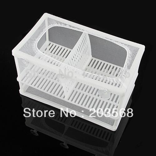 Y102 Fish Tank Hatchery Partitions Aquarium Breeding Breeder Hospital Soft Net Case L(China (Mainland))