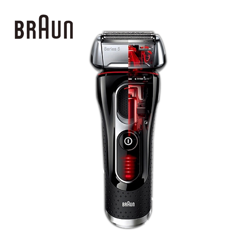 brand braun electric shaver.