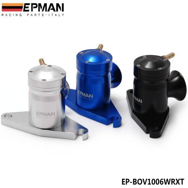 EPMAN performance racing parts turbo aluminum BOV turbo wastegate bov siut for WRX Default color Black