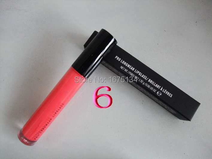 High quality professional MC brand makeup lipgloss , colorful lipgloss plump lipgloss 15 color 1.92g (5pcs/lot)(China (Mainland))