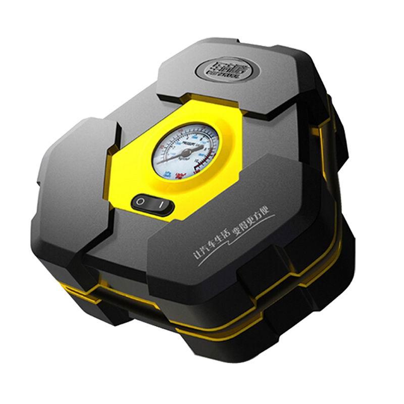 Portable DC 12V Inflatable Pump 3M Cord Heavty Duty Car Air Compressor Auto Wheel Pressure Monitor for Vehicle Bike Motor Ball