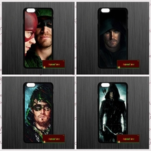 Green Arrow Comic Style Oliver Queen Cover iphone 4 4s 5 5s 5c 6 6s plus samsung galaxy S3 S4 mini S5 S6 Note 2 3 JY0997 - beyond love store