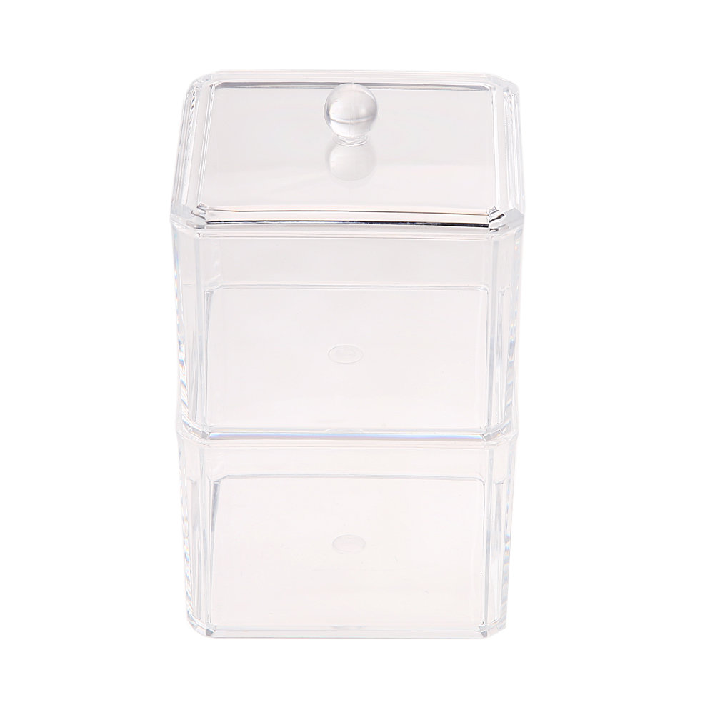 Colorful transparent crystal Make Up Cosmetic Organizer Storage Case Box ContainerJewelry Organizer Case Acrylic Makeup Pen Box(China (Mainland))