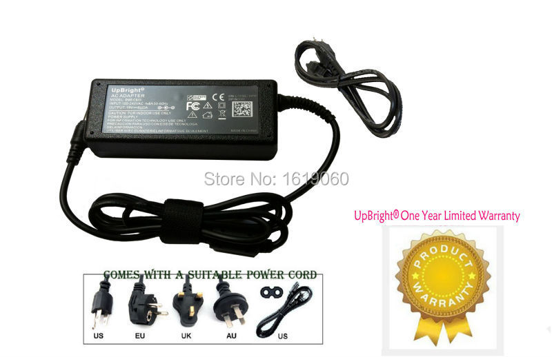 UpBright New Global AC / DC Adapter For LG Cineview 29UM57 29UM57-P IPS LED LCD Monitor Power Supply Cord Cable PS Charger PSU(China (Mainland))