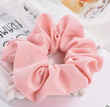Free Shipping 2017 New women's hair Scrunchies Hair Tie Hair Accessories Ponytail Holder Hair(China (Mainland))