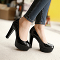 Pumps Shoes Woman Patent Leather New 32 33 46 45 44 43 42 40 high heel