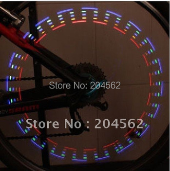 Free shipping/LED light for car,LED light for bicycle(5led flash, 32 kinds of color changes)